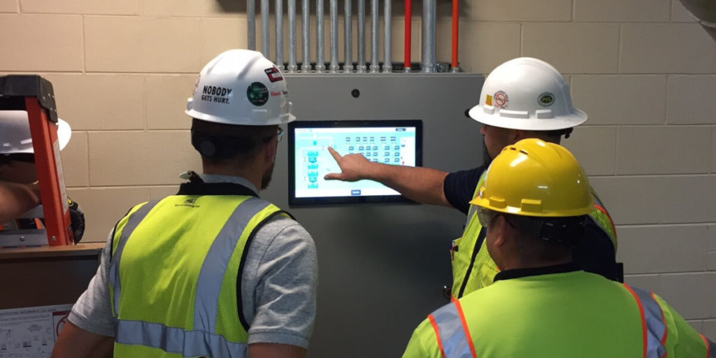 Pneumatic waste system control center